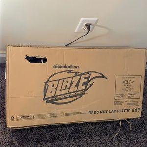Blaze and The Monster Machines Metal Balance Bike